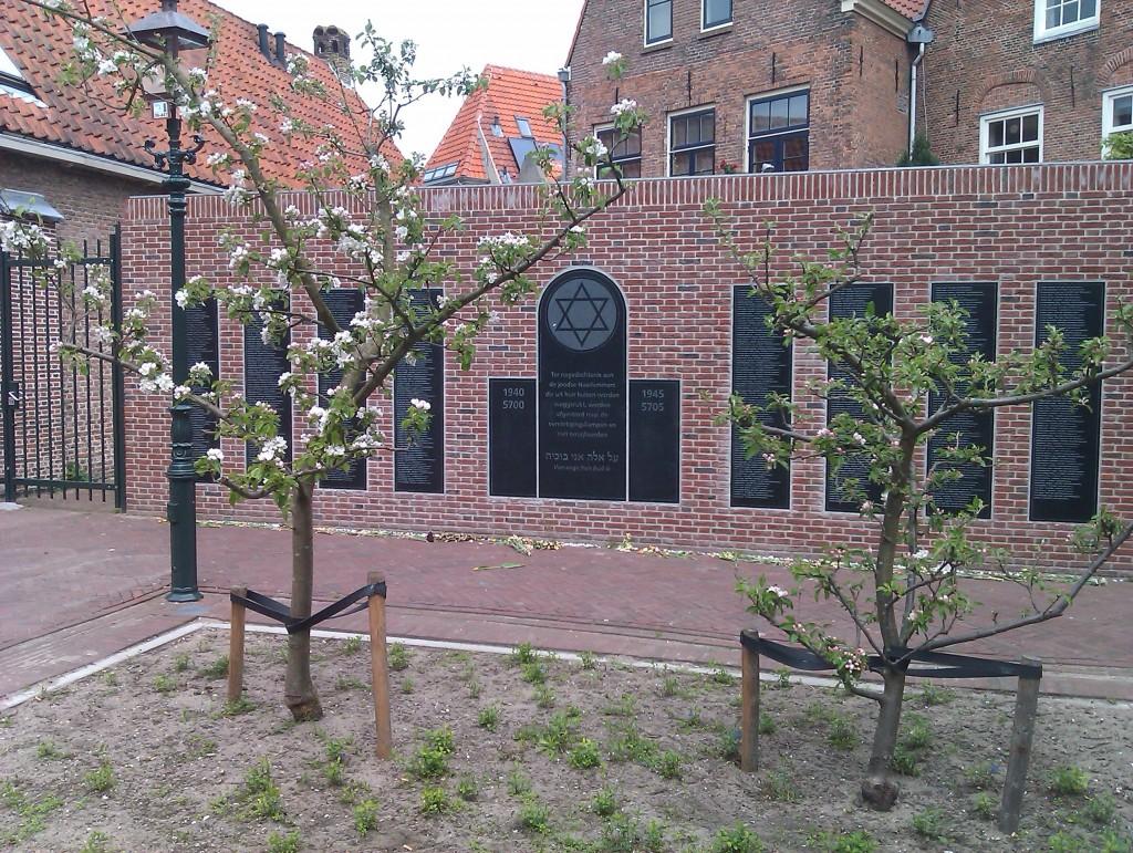 Appelboom aan het Philip Frankenplein in bloei